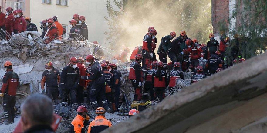 İzmir depreminde can kaybı sayısı 92'ye yükseldi
