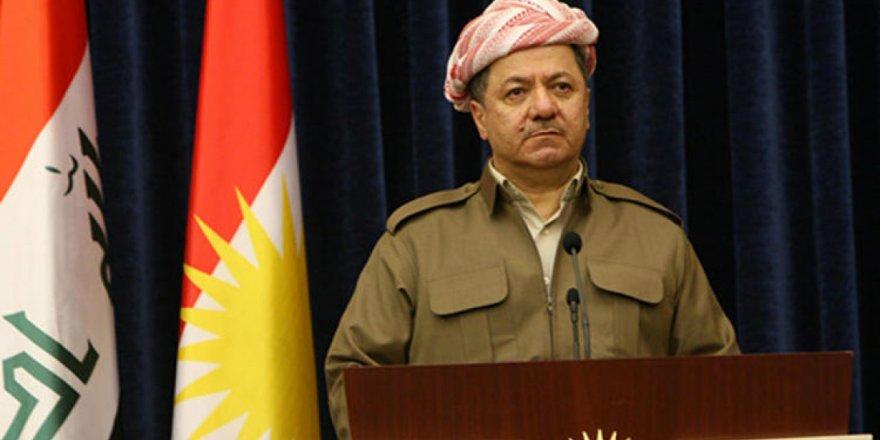Mesut Barzani'den PKK'ya: Şengal'i terk et