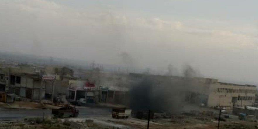 Rusya destekli Esed rejimi İdlib'i bombalıyor