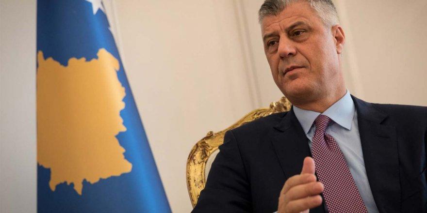 Kosova Cumhurbaşkanı Haşim Thaçi istifa etti