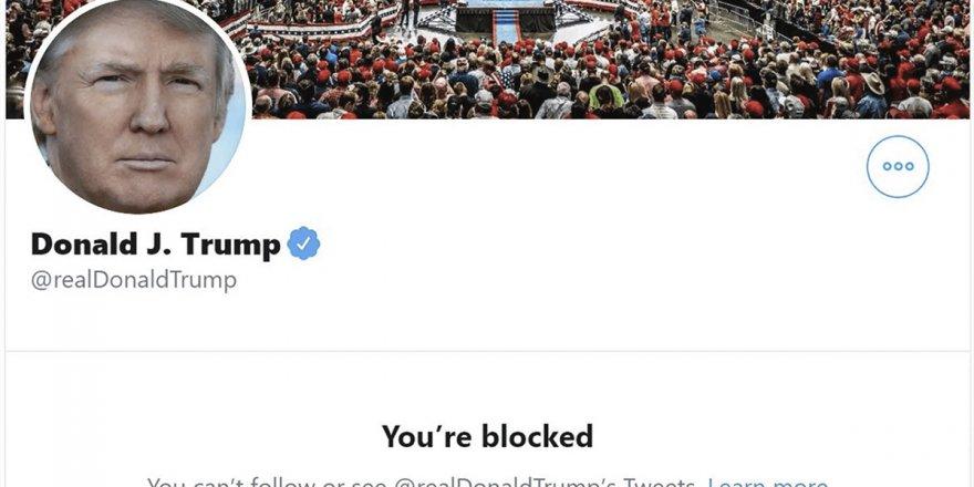 Twitter ve Facebook'tan Trump'a sansür