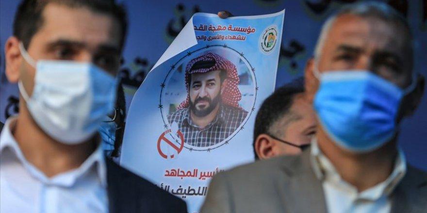103 gündür açlık grevinde olan Filistinli tutuklu Ahres'e özgürlük yolu göründü