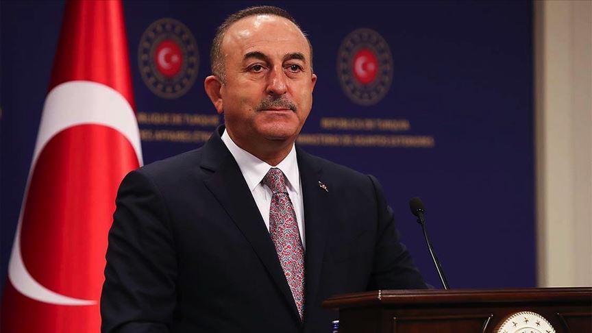 Bakan Çavuşoğlu, BAE Dışişleri Bakanı ile görüştü