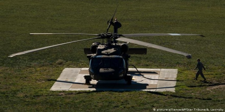 Mısır'da ABD ve Fransız askerleri taşıyan helikopter düştü