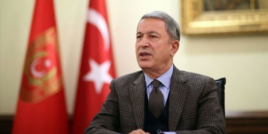 Milli Savunma Bakanı Akar'dan Çözüm Süreci ve Karabağ üzerine açıklamalar
