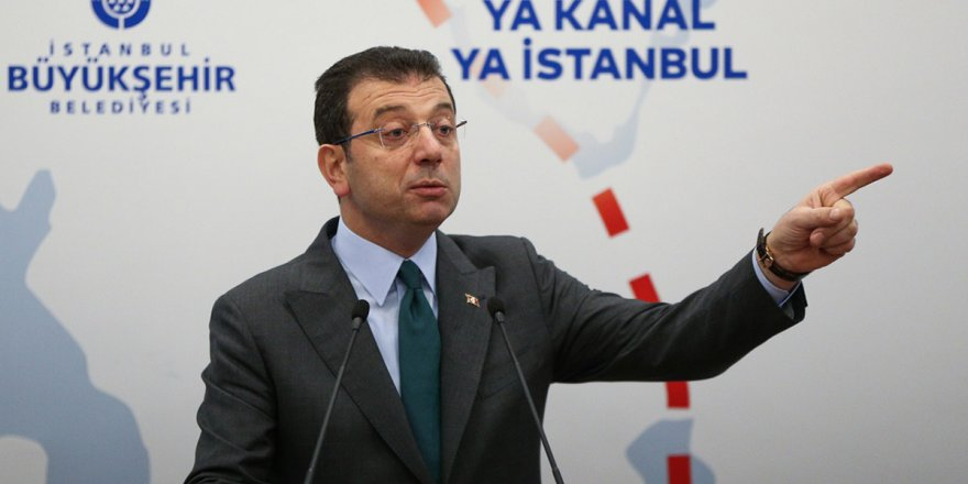 Ekrem İmamoğlu'na 'Kanal İstanbul' incelemesi