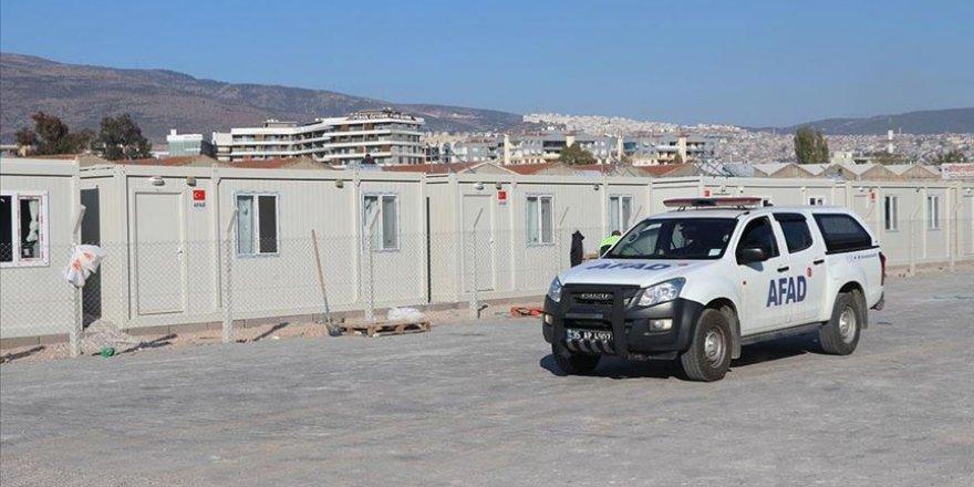 İzmir'deki geçici konaklama merkezi, ilk depremzedeleri yarın ağırlayacak