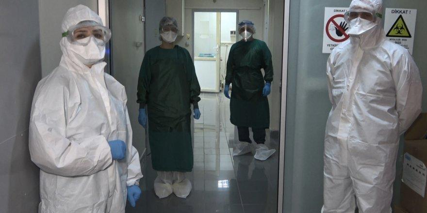 Osmaniye'de 50 sağlık çalışanının testi pozitif çıktı