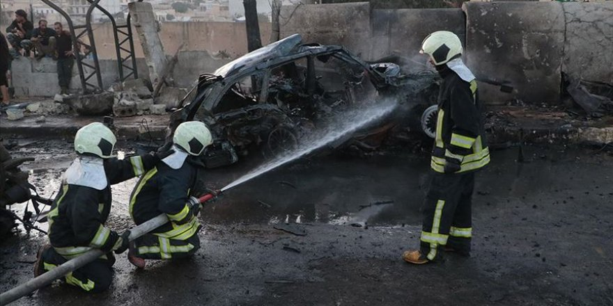 Afrin'de bombalı saldırı: 1 ölü, 13 yaralı