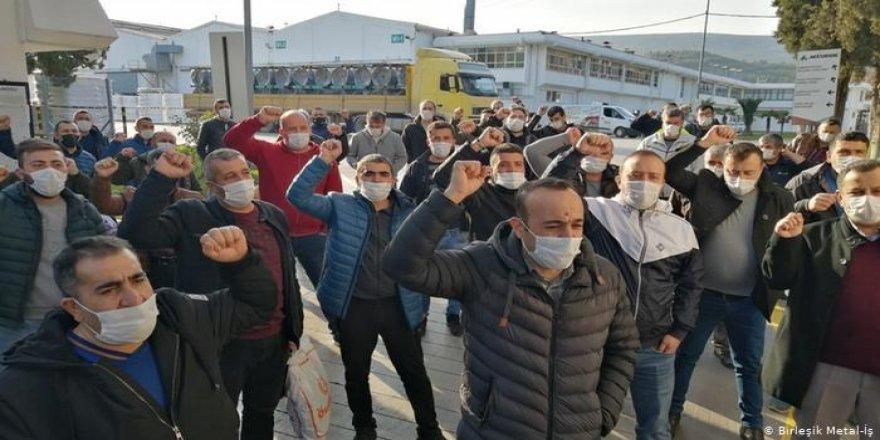 Gebze'den Ankara'ya yürümek isteyen metal işçileri gözaltına alındı