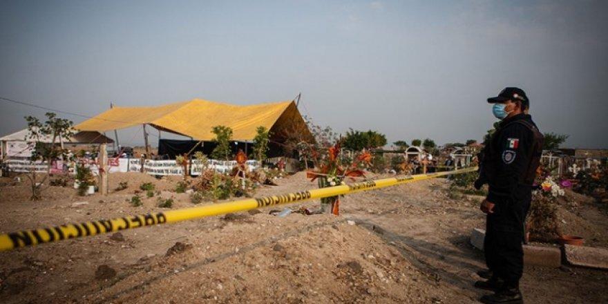 Meksika'da toplu mezarda 113 ceset bulundu