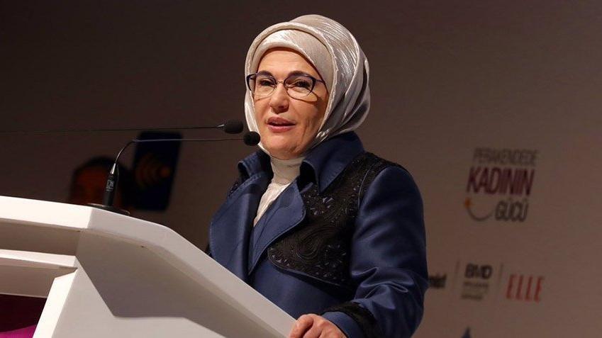 """Emine Erdoğan: """"Katiller, mafya babaları, zorbalar rol model gibi lanse edilmesin..."""""""