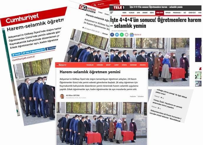 Tek parti rejiminin yemin dayatması devam ediyor