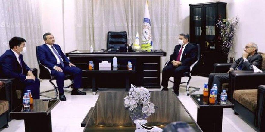 Özbekistan Heyetinin PKK/PYD'yle Tuhaf Temasları