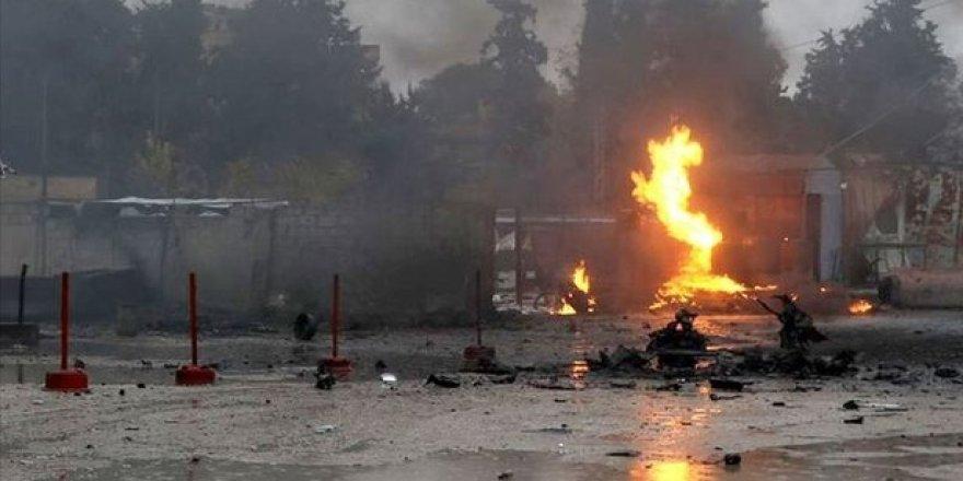Rasulayn'da SMO kontrol noktasında bombalı araçla saldırı