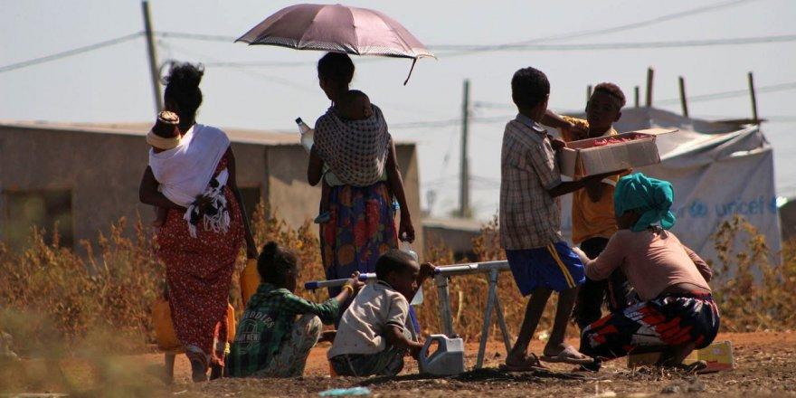 İHH'dan Sudan'daki Etiyopyalı mülteciler için yardım çalışması