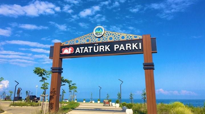 CHP'li Belediye Millet Bahçesini de Atatürk Parkına çevirmiş!
