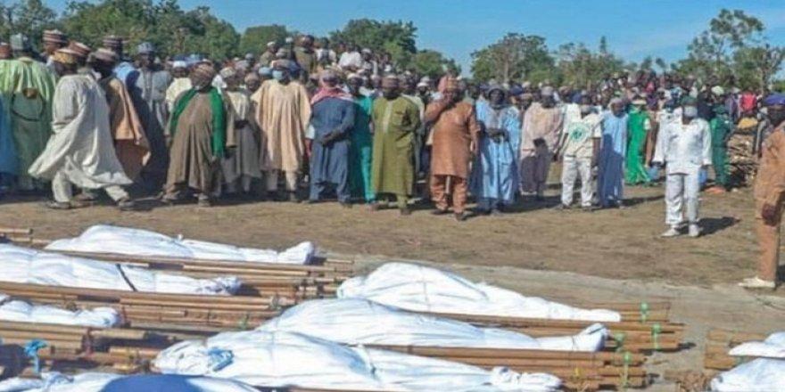 Nijerya'da 110 çiftçi boğazı kesilerek katledildi
