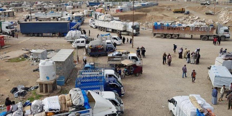 Irak'ta göçmenlere ait kamplar kapatıldı