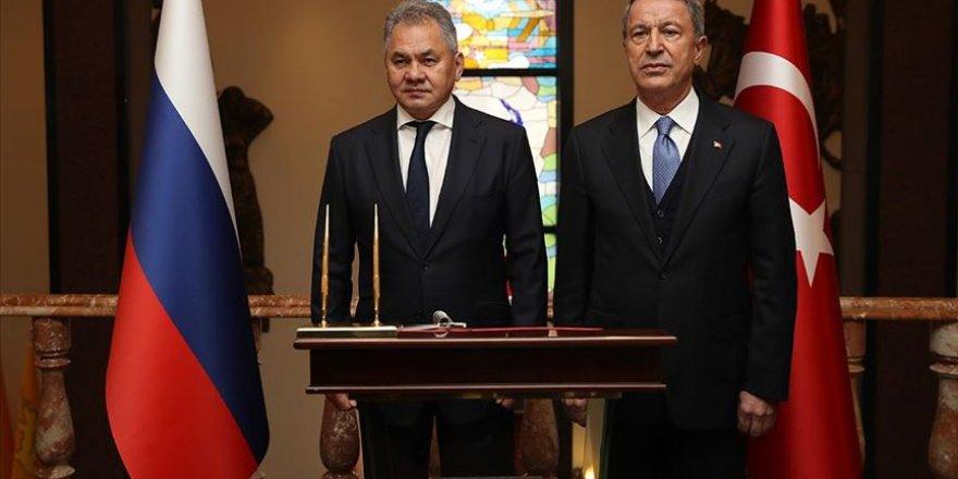 Türkiye ile Rusya arasında 'Ortak Merkez' mutabakatı imzalandı