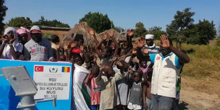 Hayırda Buluşanlar Topluluğu Afrika'da su kuyusu açtı
