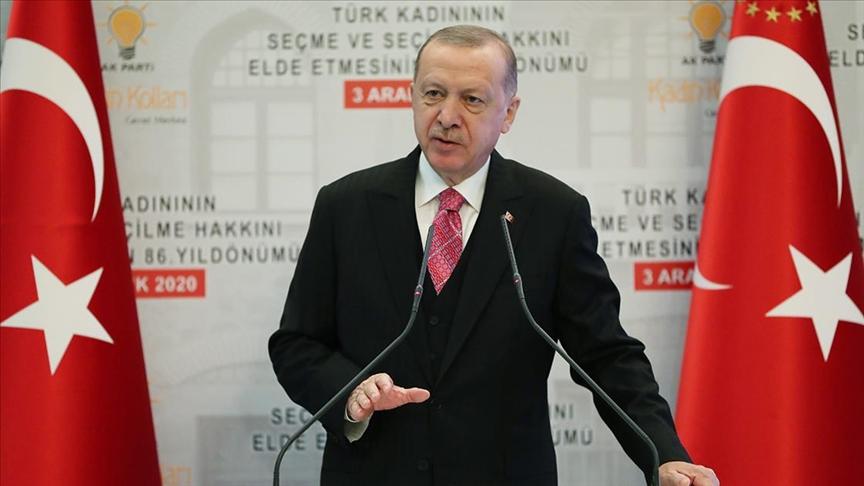 Erdoğan: Aileye yönelik her saldırıyı, varlığımıza yapılmış kabul ediyoruz