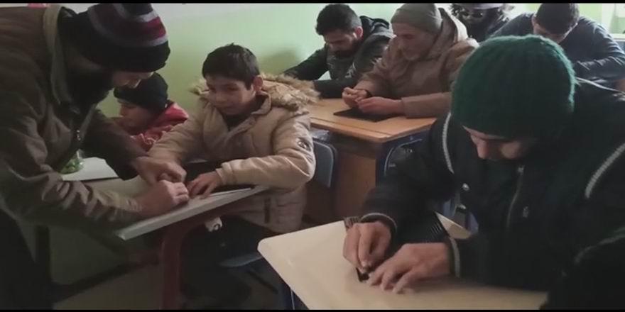 İdlib'de engellilerin hayatına umut ekiliyor