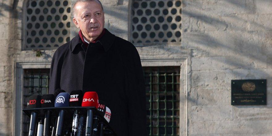 Erdoğan: Koronavirüs aşısı yaptırırım