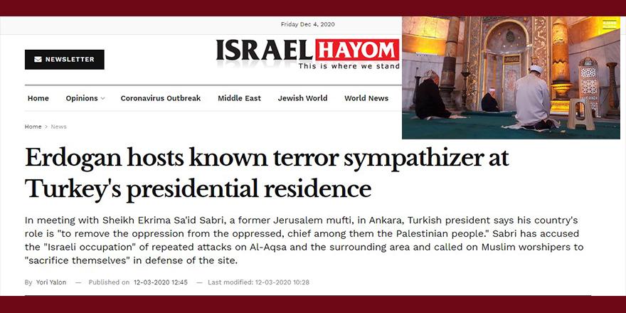 Terör devleti, Kudüs Muhafızına terörist diyormuş!