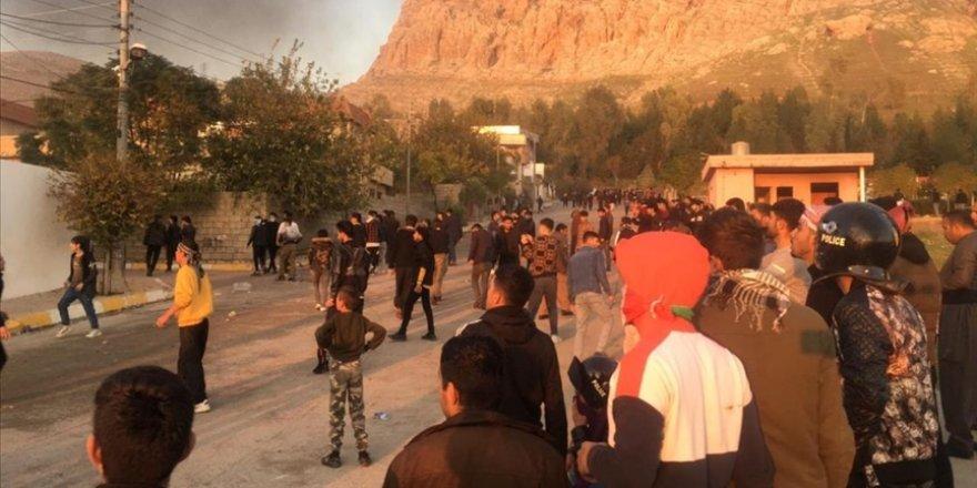 Süleymaniye'deki protestolar sırasında 1 çocuk hayatını kaybetti