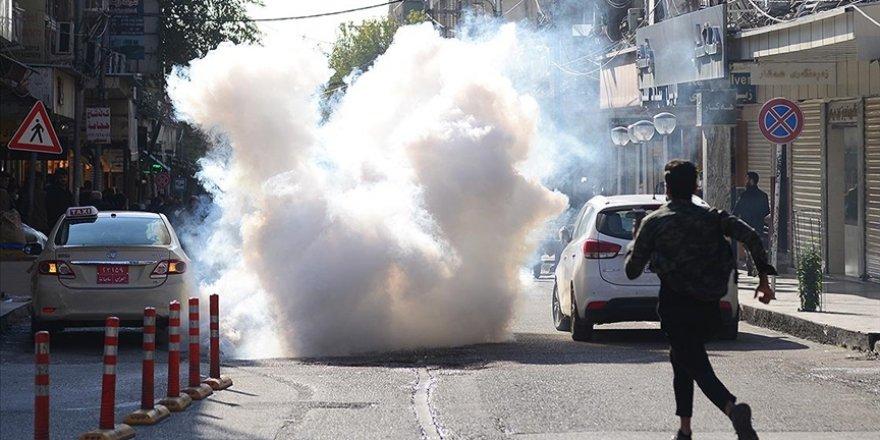 Süleymaniye'deki gösterilerde 15 kişi yaralandı