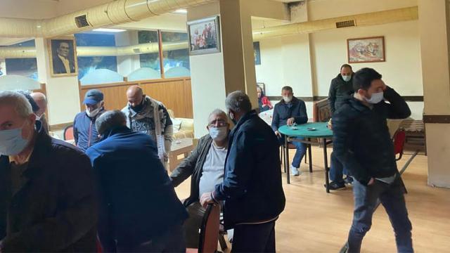 Kıraathanelere baskın: 187 bin 620 lira ceza kesildi