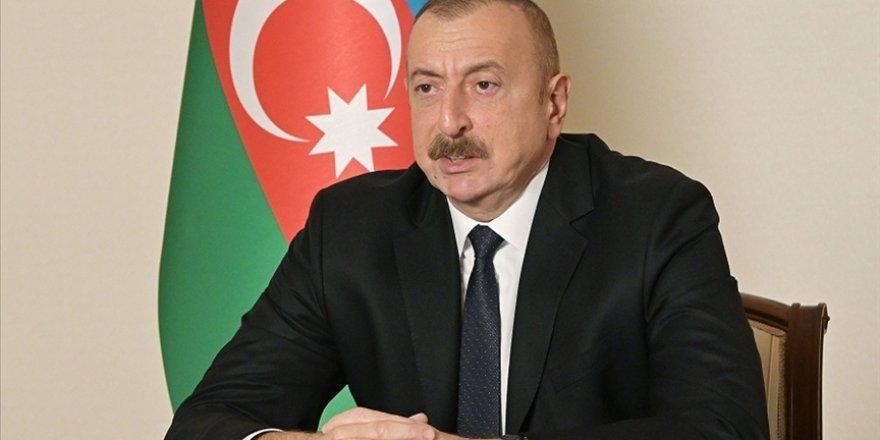 Aliyev: Minsk Grubu çatışmanın çözümünde herhangi bir rol oynamadı