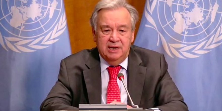 BM Genel Sekreteri Guterres: Dünya iklim OHAL'i ilan etmeli