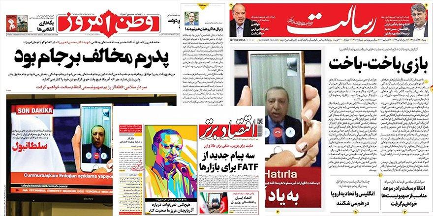 İran'ın bu saçma ve kötü niyetli çarpıtmasına; pess, vallahî..
