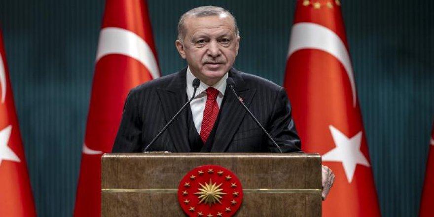 Cumhurbaşkanı Erdoğan: Esnafımıza 3 ay süreyle kira desteği yapacağız