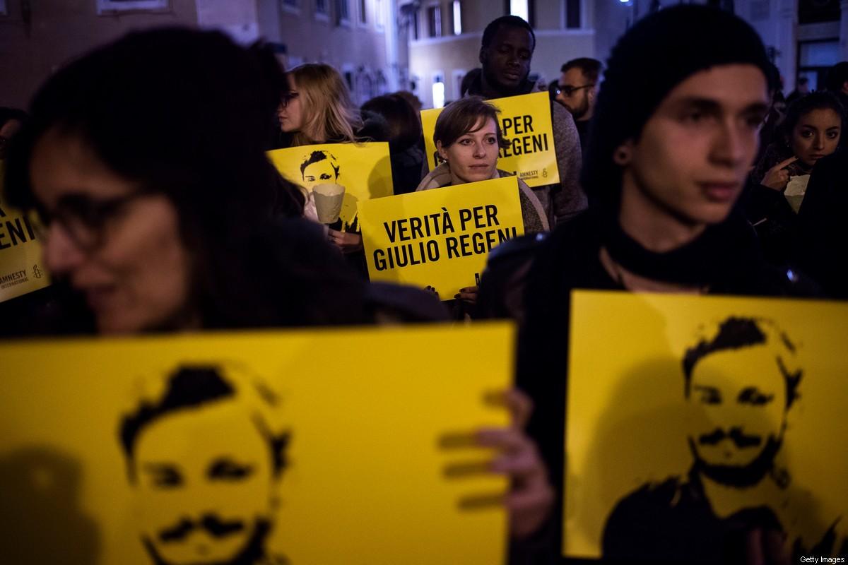 Kahire'de kaybolan İtalyan genç için Mısır'a tepki vermekten kaçınılıyor