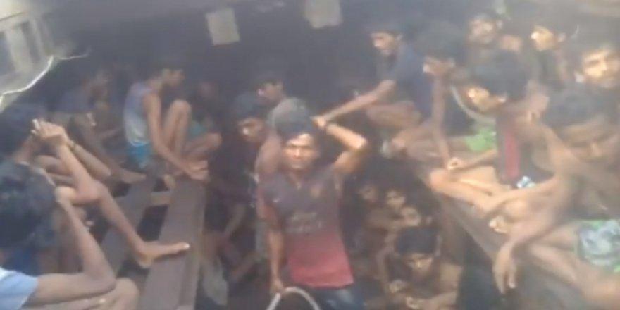 Arakanlılar insan kaçakçılarının işkencelerine maruz kalıyor