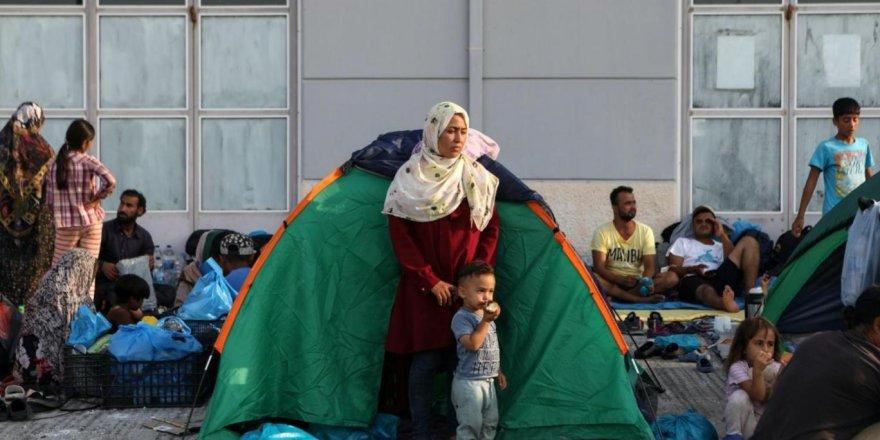 Ege adalarında sıkışan mültecilerin dramı