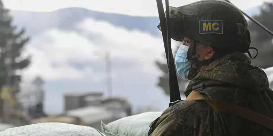 Karabağ'da bir Rusya askeri öldü