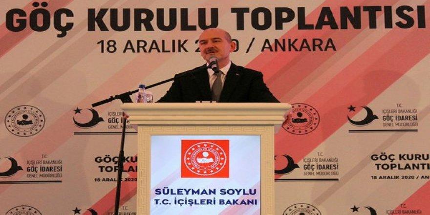 İçişleri Bakanı Süleyman Soylu'dan Suriyelilere yönelik ırkçı açıklamalara tepki