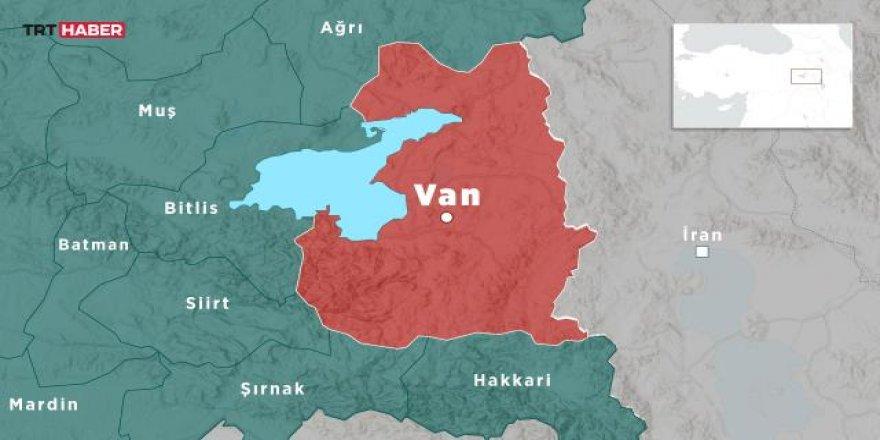 Van'da 4,4 büyüklüğünde deprem