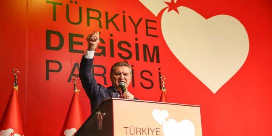Mustafa Sarıgül'ün partisi Türkiye Değişim Partisi'nin genel merkezi açıldı