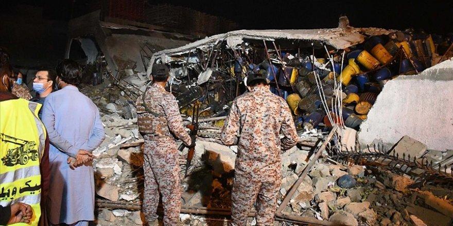 Pakistan'da fabrikada patlama: 6 ölü, 16 yaralı