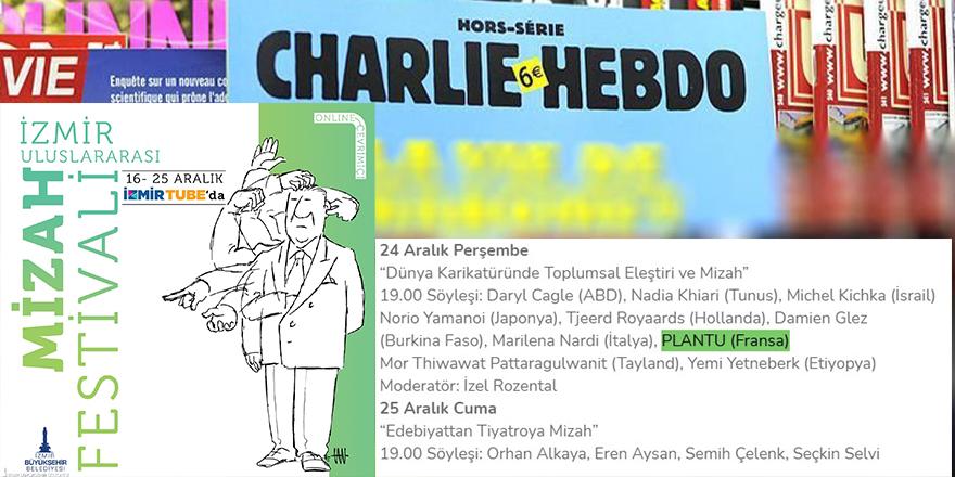Charlie Hebdo Dergisinin yayın danışmanı İzmir Belediyesi tarafından onore ediliyor!