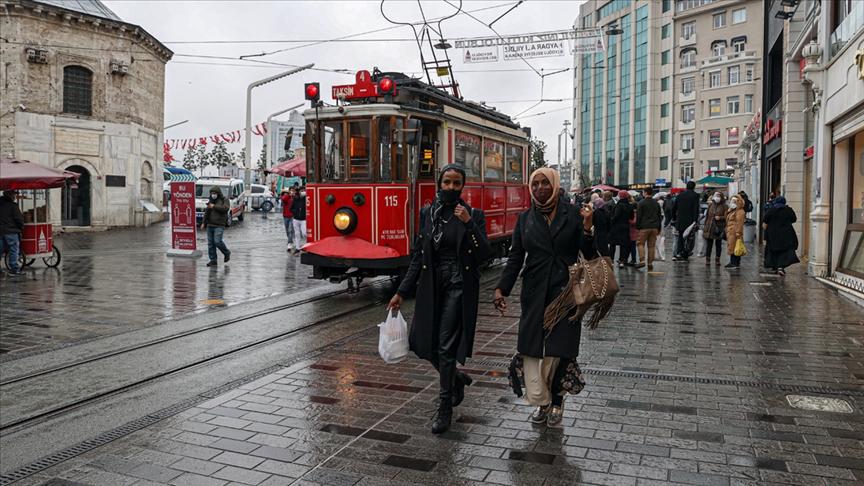 Türkiye 11 ayda yaklaşık 14,5 milyon ziyaretçi ağırladı