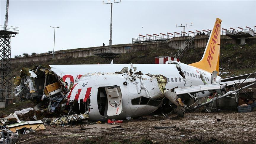 Sabiha Gökçen Havalimanı'ndaki uçak kazasına ilişkin bilirkişi raporu tamamlandı