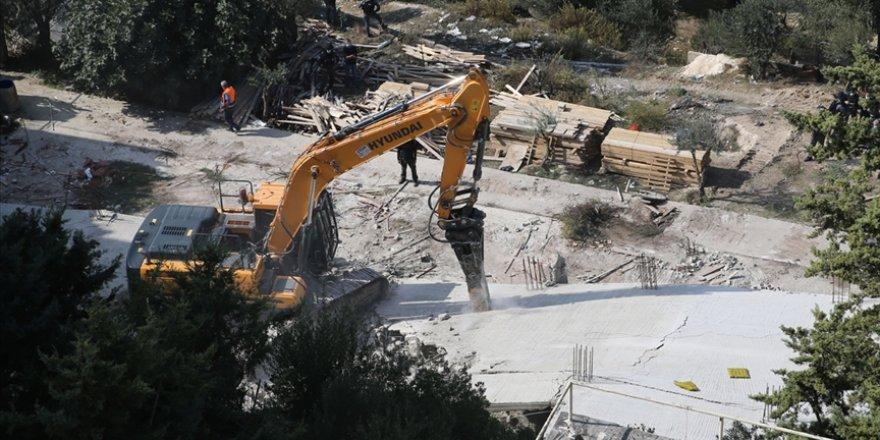 Siyonist İsrail 2020 yılında Kudüs'te Filistinlilere ait 170 evi yıktı