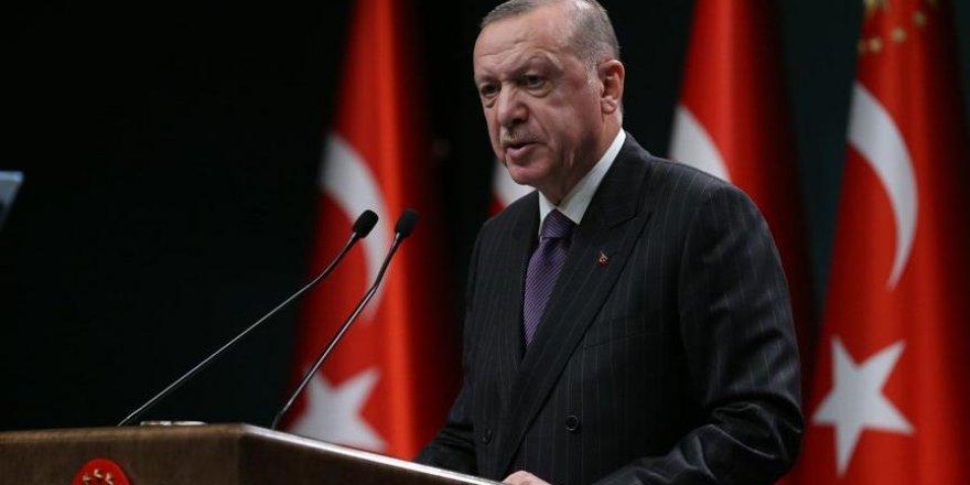 Cumhurbaşkanı Erdoğan'dan aşı ve yüzyüze eğitim açıklaması