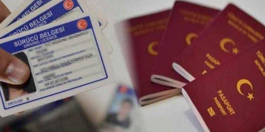 2021'de ehliyet ve pasaport harçlarına yapılan zam oranları Resmi Gazete'de yayınlandı